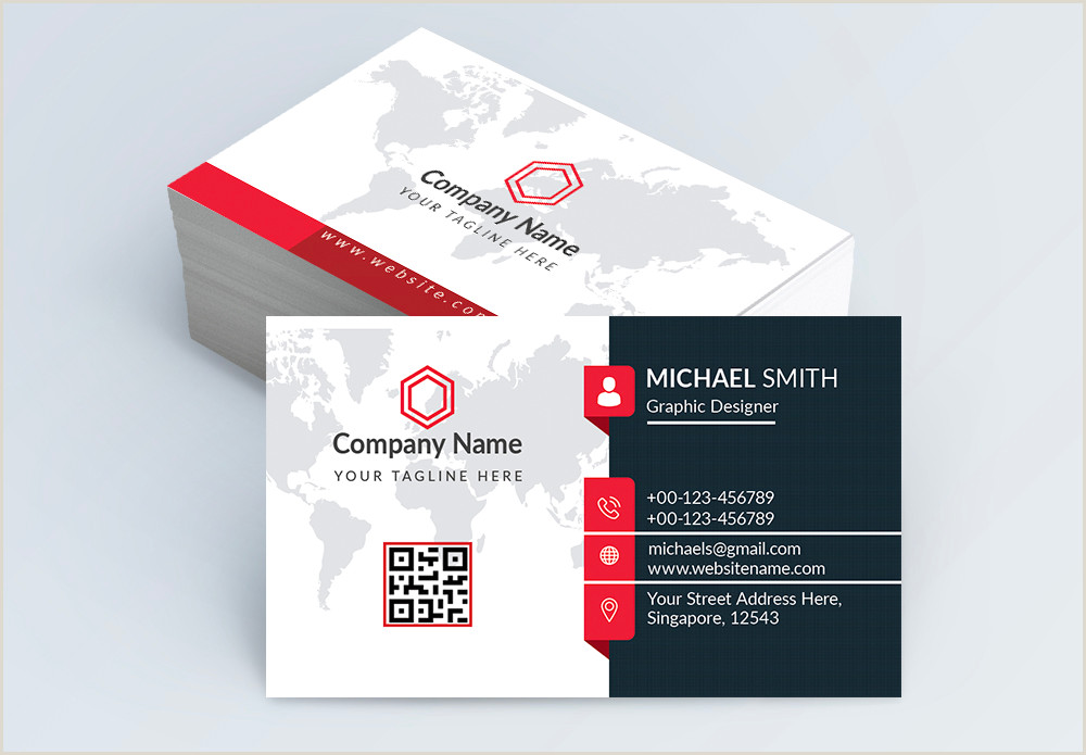 Media Company Business Cards Modern Business Card In 2020