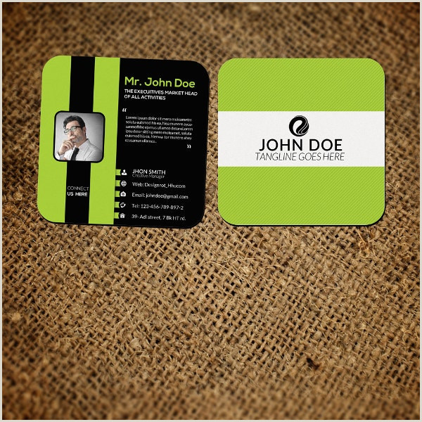 Mini Business Card Template 17 Small Business Card Templates Pages Ai Publisher