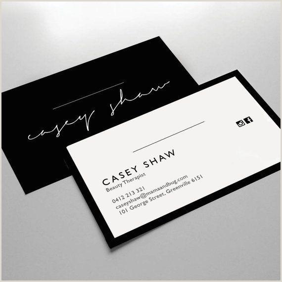 Mini Business Card Template Business Card Design Business Card Template Small