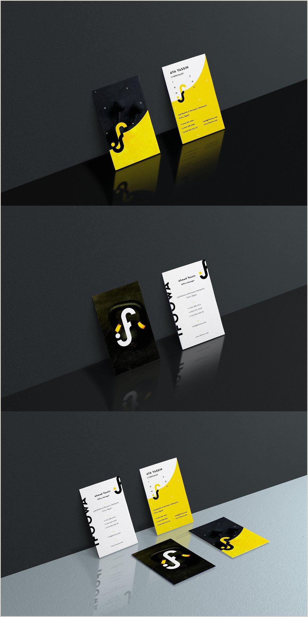 Mini Business Card Template Business Card Design