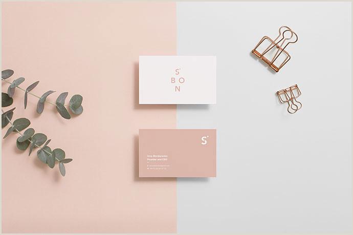 Minimalist Business Card Design 40 Elegant Minimal Business Card Designs 2018 – Bashooka