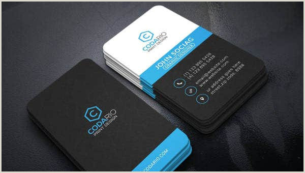 Modern Business Card Design 12 Modern Business Card Templates Pages Word Ai