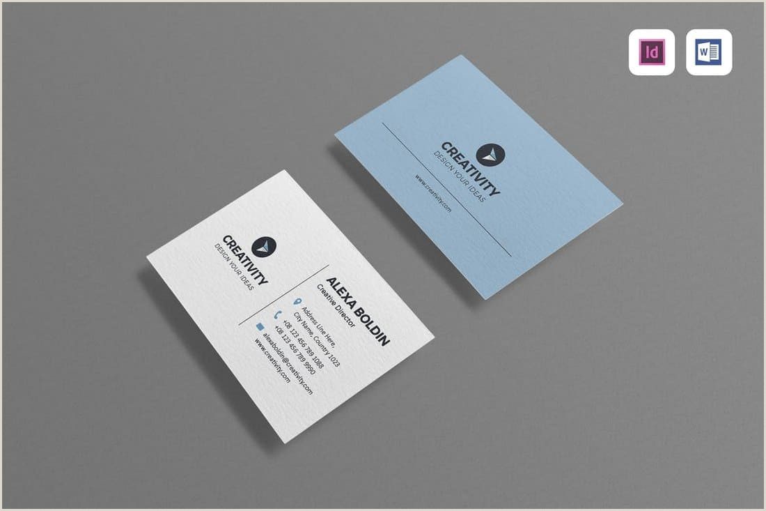 Modern Business Card Design 25 Best Modern Business Card Templates 2021 Word Psd