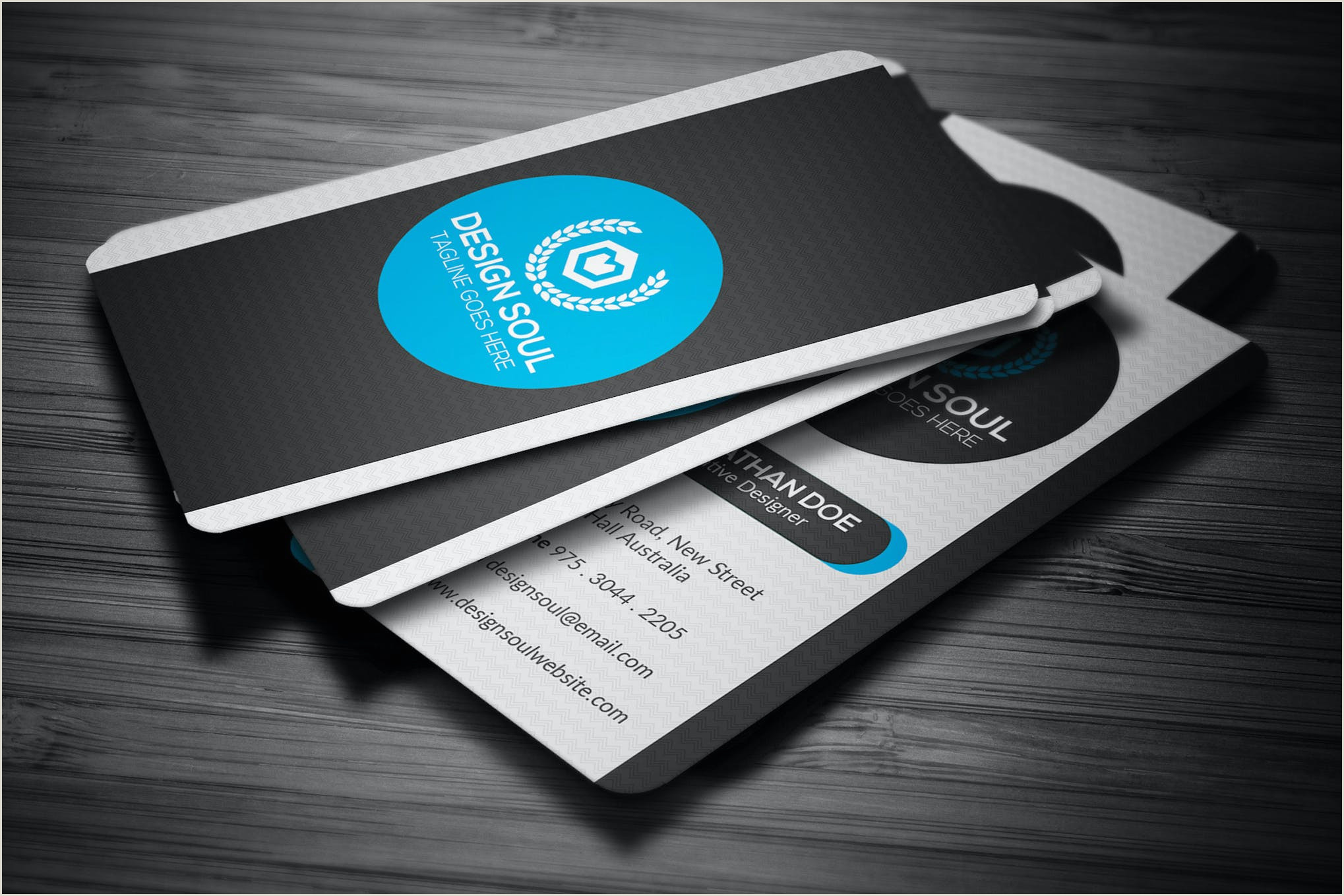 Modern Business Card Design Modern Business Card By Designsoul14 On Envato Elements