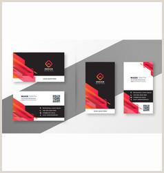 Modern Business Card Design Modern Business Card Vector Over 480 000