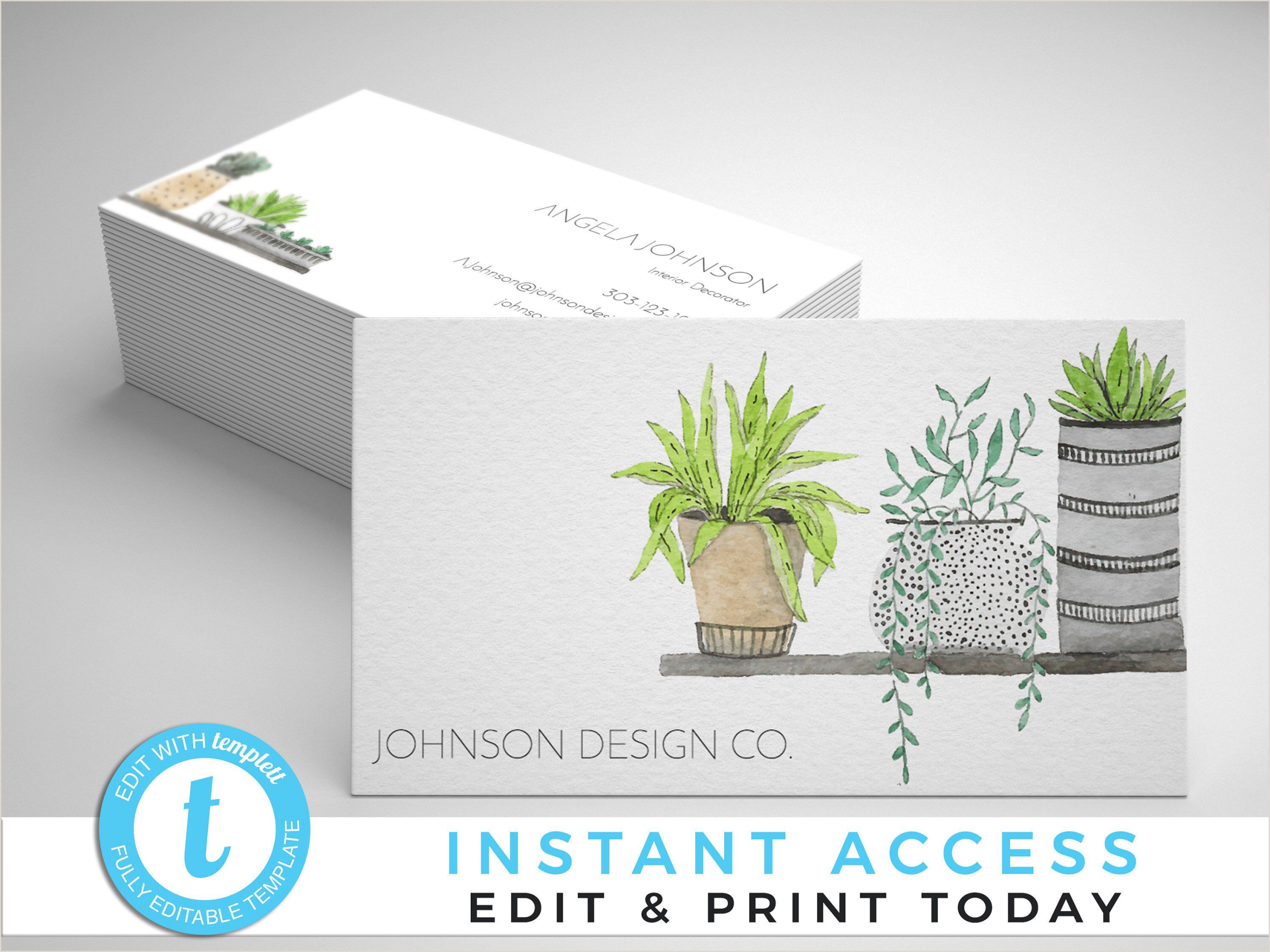 Modern Business Card Ideas This Item Is Unavailable Etsy