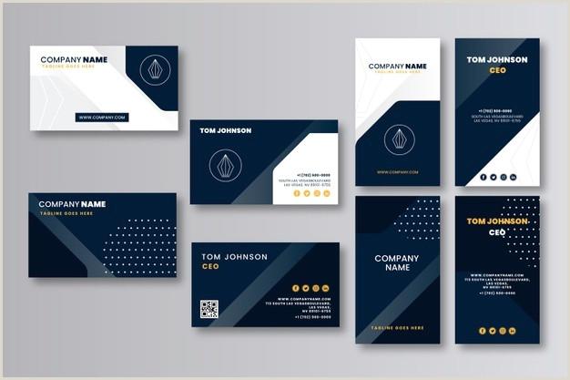 Modern Business Card Templates Free 39 716 Modern Business Card