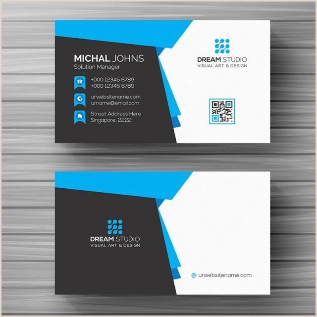 Modern Business Card Templates Free Business Card Template