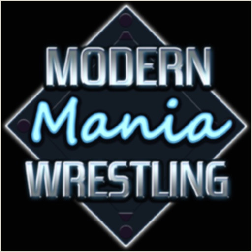 Modern Business Cards Ideas Modern Mania Wrestling By Checkmate Creative Llc