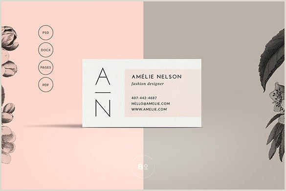 Modern Calling Card Design Calling Card Template 16 Free Sample Example Format