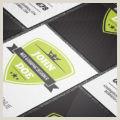 Modern Vertical Business Cards Free Modern & Creative Vertical Business Card Template