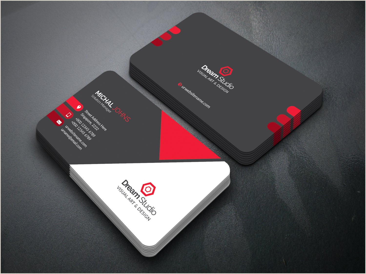 Mood Business Cards Business Card