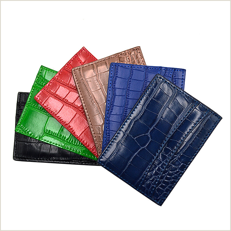 Most Creative Business Cards Leather Card Holder Credit Card Holder Id Card Holder Slim