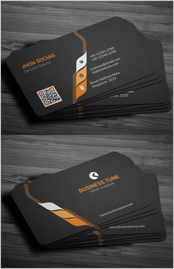 My Professional Business Cards 27 New Professional Business Card Psd Templates