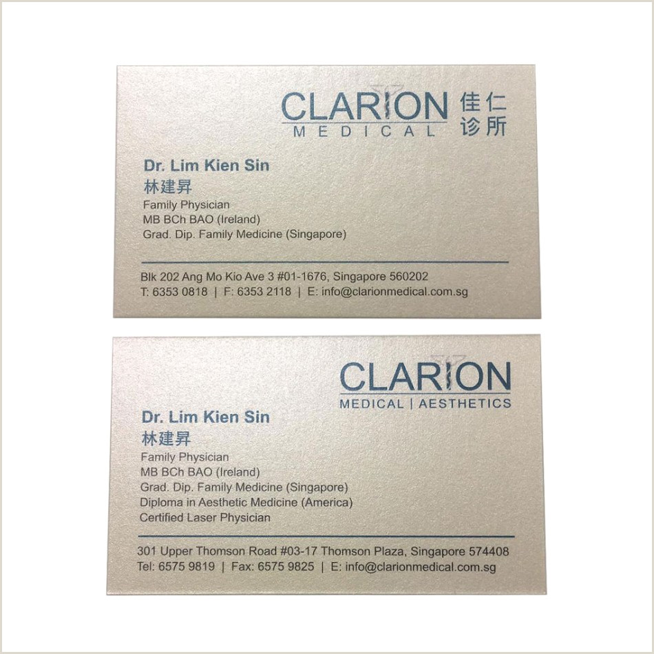 Name Card Online Best Name Cards Line Design & Printing In Singapore Best