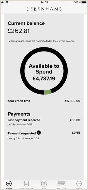 Name Card Online Debenhams Card On The App Store