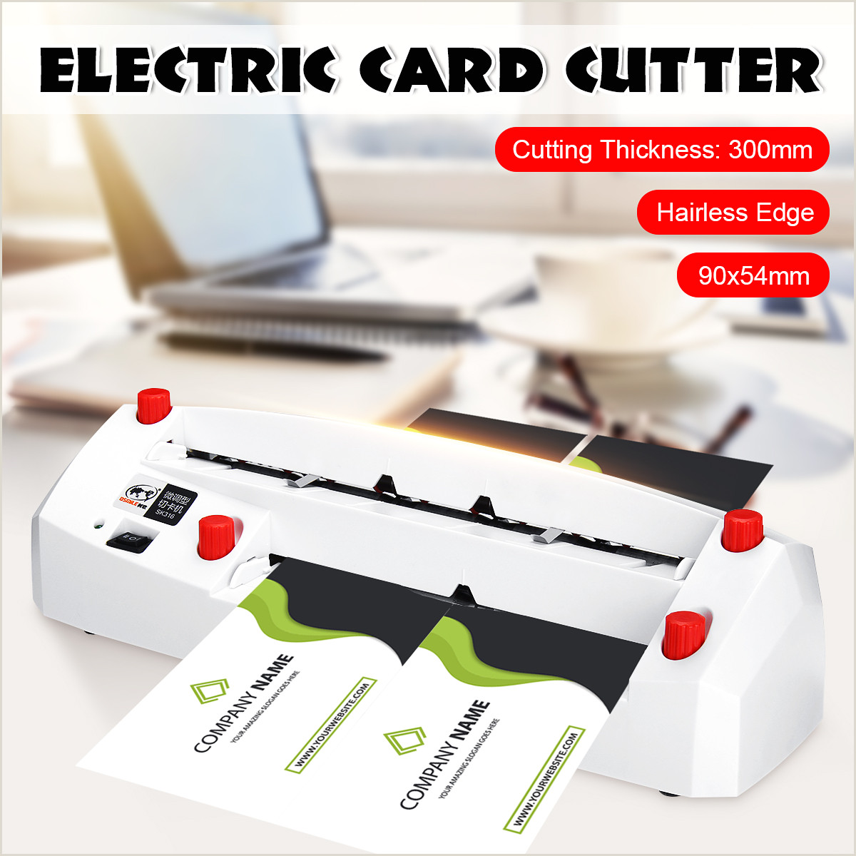 Name Card Printing Automatic Business Electric Card Cutter Name Card Slitter