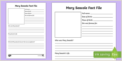 Name Card Printing Dyslexic Mary Seacole Word Cards Teacher Made