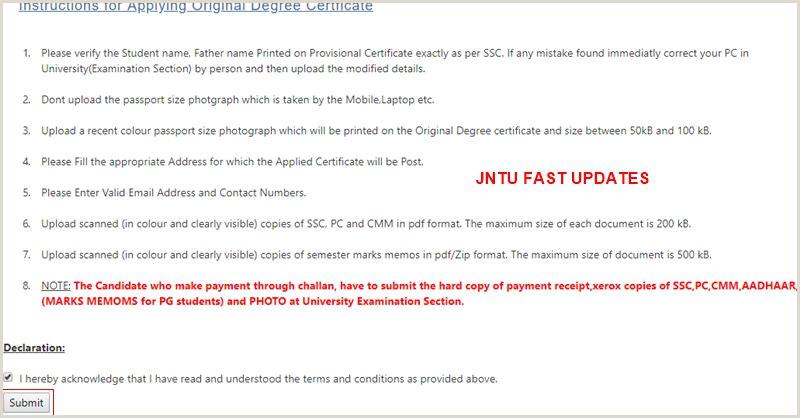 Name Card Printing Jntuk Original Degree Application Form 2020 Jntuk Od Apply