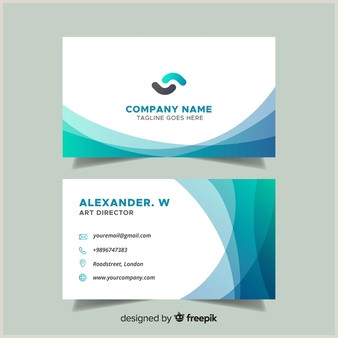 Name Card Template Free Name Card