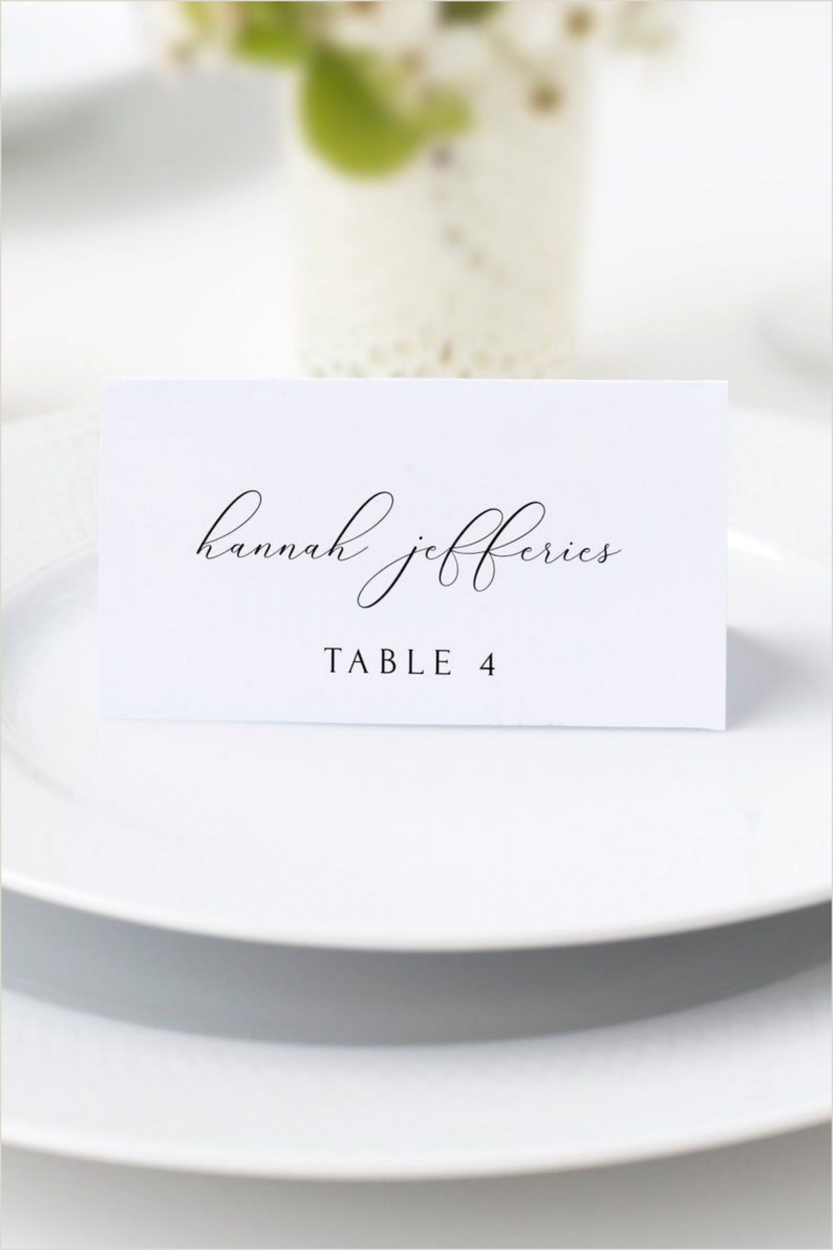 Name Card Template Wedding Wedding Name Card Template Addictionary