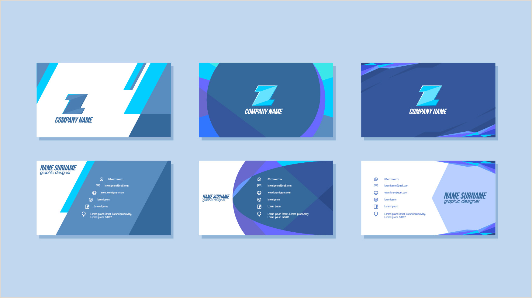 Name Card Templates Name Card Design Free Vector Art 74 909 Free Downloads
