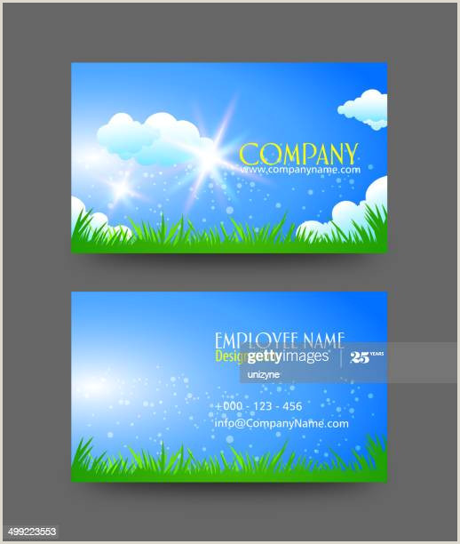 Nature Business Cards 70 Nature Business Cards High Res Vector Graphics Getty