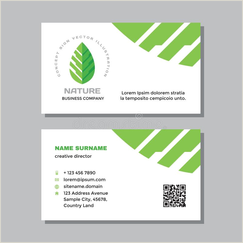 Nature Business Cards Business Card Nature Stock Illustrations – 76 534 Business