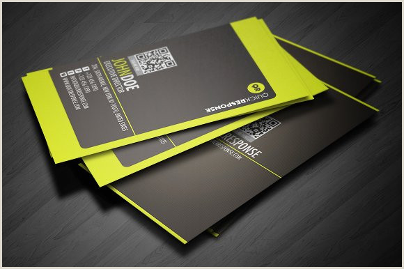 Neon Green Business Cards Neon Lime Green Business Card Design