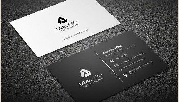 New Business Card Design Simple Business Card Template