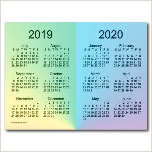 New Green Card Design 2020 2019 2020 School Year Mini Calendar By Janz Post Card