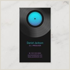 Normal Size Of Business Card 300 Musician Business Cards Ideas In 2020