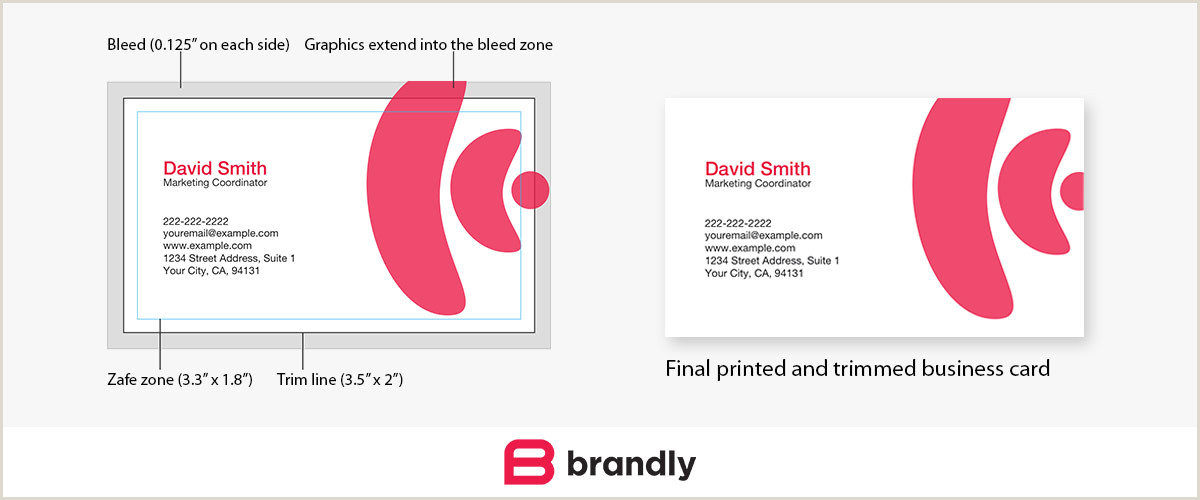 Normal Size Of Business Card Standard Business Card Sizes Free Templates