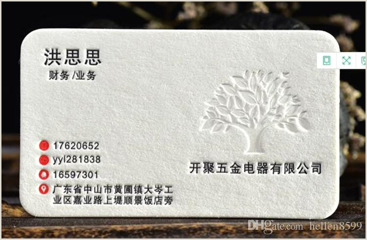 One Sided Business Card Designs 2020 Personality Qr Code Printing Paper Business Card Double Sided Custom Card Embossed Hot Stamping Business Card From Hellen8599 $88 45