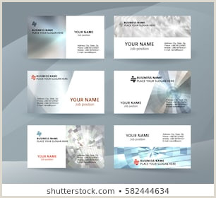 One Sided Business Card Designs Business Card E Sided Stock S & Vectors