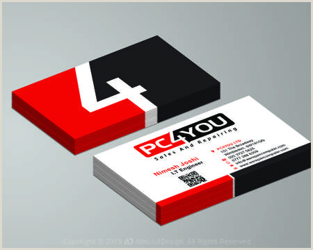 One Sided Business Card Designs Greeting Card Christmas New Year Valentines Birthday