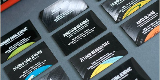 One Sided Business Card Designs Record Label Business Cards Pensandpieces