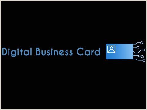 Online Business Card Best Digital Business Card App