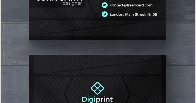 Online Business Card Template 20 Professional Business Card Design Templates for Free