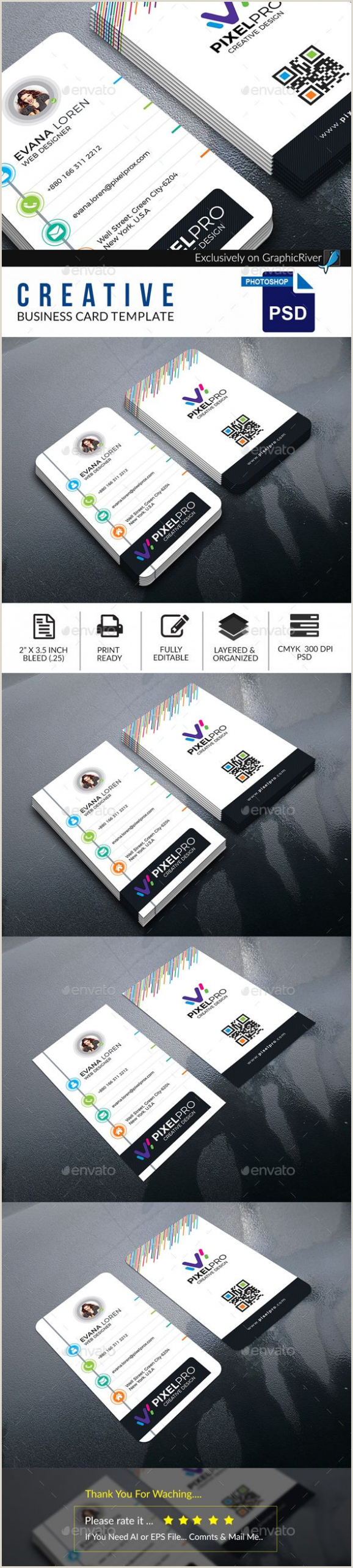 Online Business Cards Template Business Card Template Simple Creative • Download Here