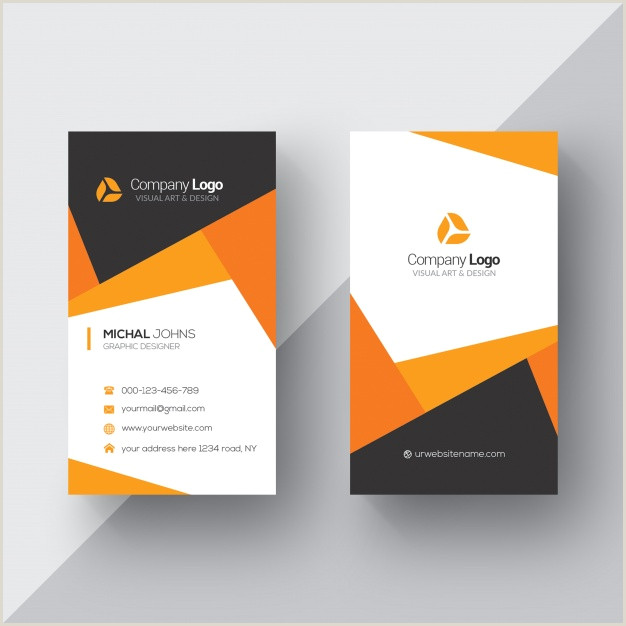 Own Business Cards 20 Professional Business Card Design Templates For Free