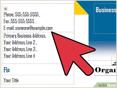 Own Business Cards 3 Ways To Make A Business Card Wikihow