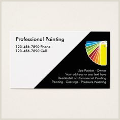 Painting Business Card Ideas 200 Painter Business Cards Ideas In 2020