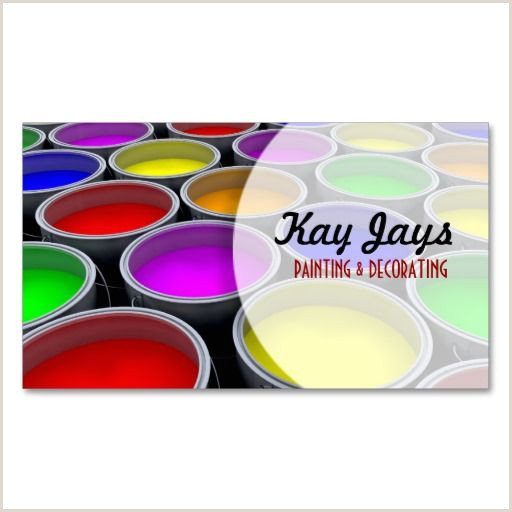 Painting Business Card Ideas Paint Cans Business Card Zazzle In 2020