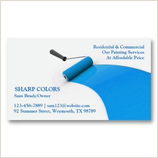Painting Business Card Ideas Pin On Painter Business Card