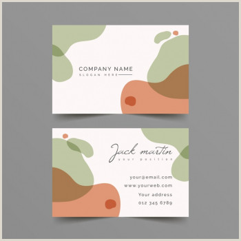 Pastel Business Cards Pastel Coloured Stains Business Card Abstract Dots And Lines