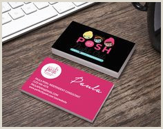 Perfectly Posh Business Card Ideas 20 Posh Business Cards Ideas