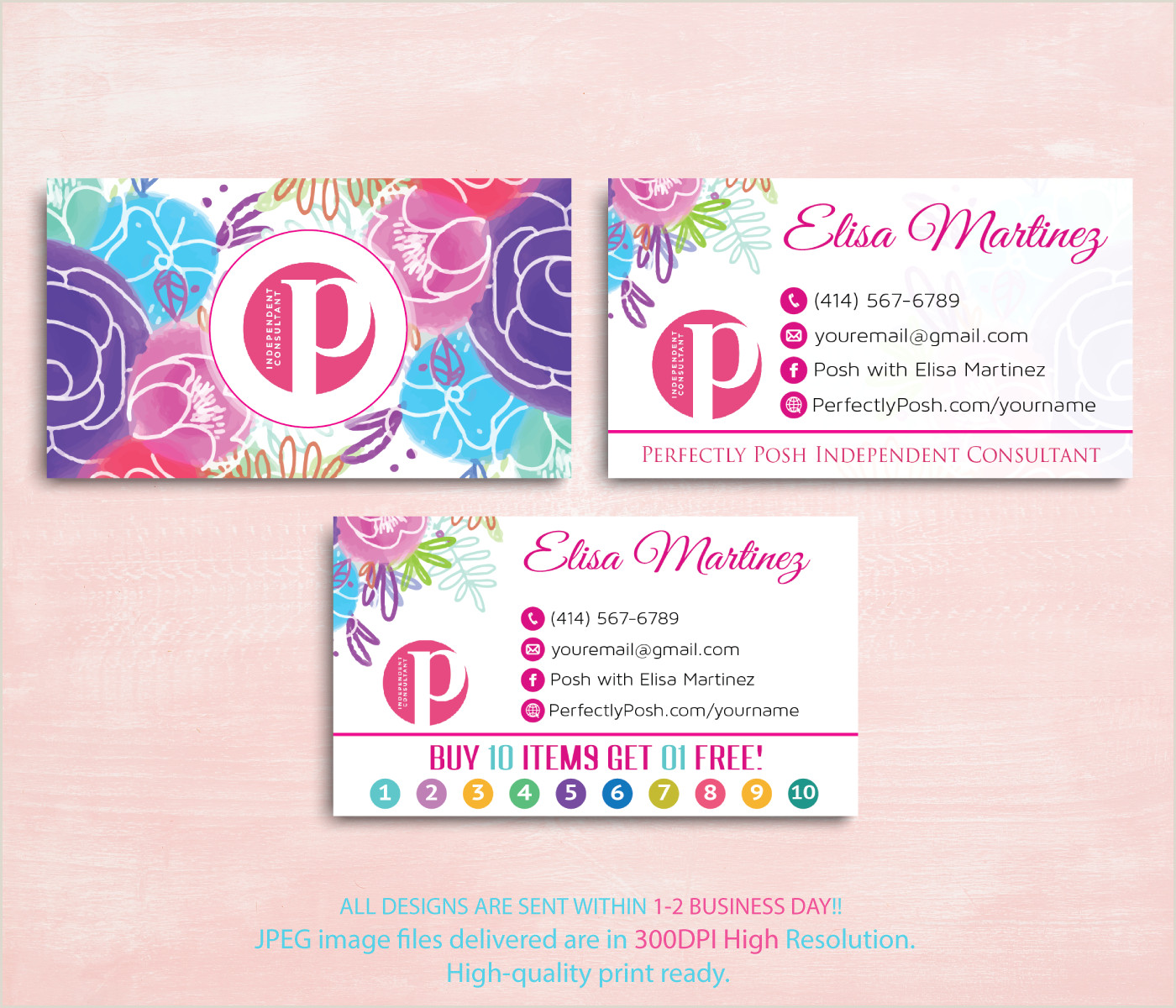 Perfectly Posh Business Card Ideas Perfectly Posh Business Cards Perfectly Posh Punch Card