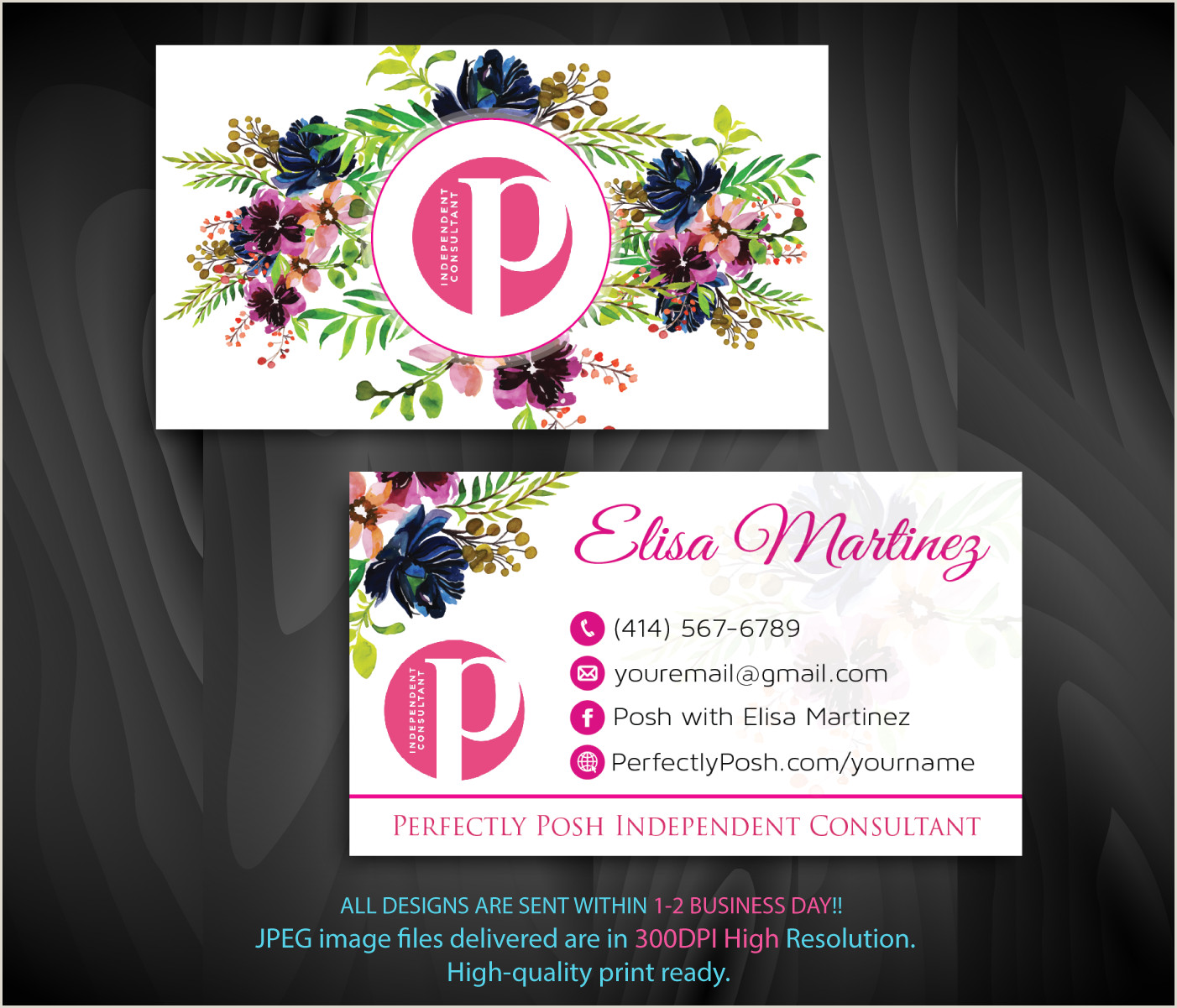 Perfectly Posh Business Card Ideas Perfectly Posh Business Cards Personalized Perfectly Posh Consultant Ps06