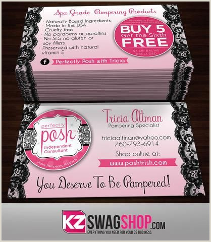 Perfectly Posh Business Card Ideas Perfectly Posh Business Cards Style 15